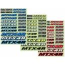 Mugen T0063 Dekorbogen MTX-4 R