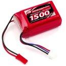Robitronic R05201 LiPo 7,4V, 1500mAh, AAA Hump Size, RX...